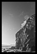 Ansel Adams Cliff